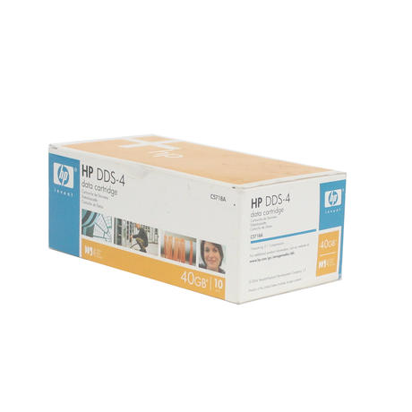 HP C5718A [x10] DDS-4 40GB | Data Cartridge